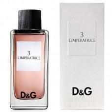 DOLCE&GABBANA 3 L'Imperatrice (L) 100 ml edt